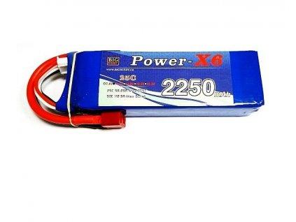 Power X6 2200 mAh 2S 25C (50C)