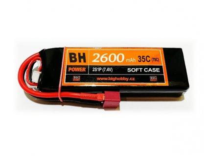 BH Power 2600 mAh 2S 35C (70C)