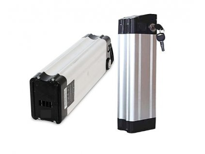 Baterie Li-ion 13Ah 36V Samsung do elektrokol  (svislá - silver fish)