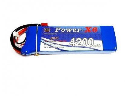 Power X6 4200 mAh 2S 35C (70C)