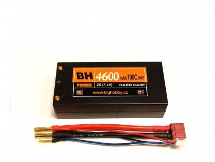 BH Power 4600 mAh 2S 100C (200C) HC (short HC), 1.6-1.7mΩ