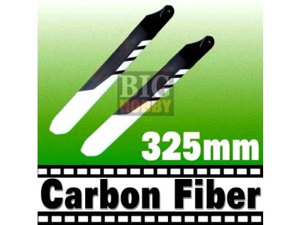 Hlavní rotorové listy 325mm - CARBON