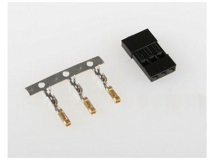 Servo konektor JR  (samice)