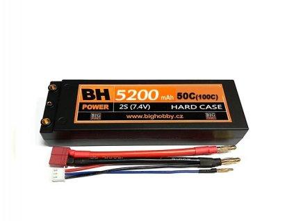 BH Power 5200 mAh 2S 50C (100C) HC (A) - AKCE !