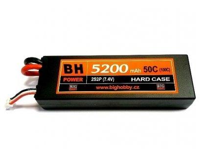 BH Power 5200 mAh 2S 50C (100C) HC (B) - AKCE !