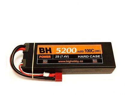 BH Power 5200 mAh 2S 100C (200C) HC (B), 1.4-1.5mΩ