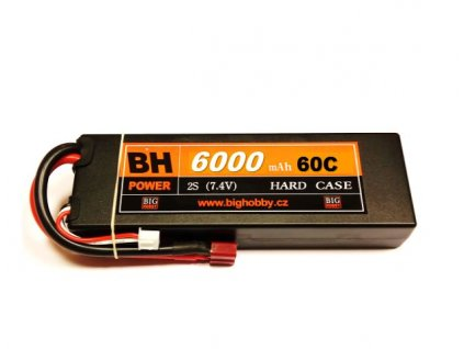 BH Power 6000 mAh 2S 60C (120C) HC (B)- AKCE !