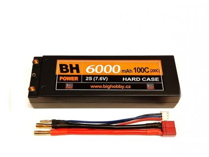 Graphene HV-BH Power 6000 mAh 2S 100C (200C) HC (A)