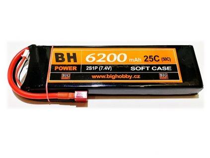 BH Power 6200 mAh 2S 25C (50C)