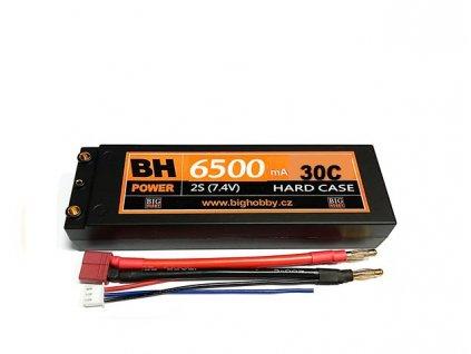 BH Power 6500 mAh 2S 30C (60C) HC (A) - AKCE !