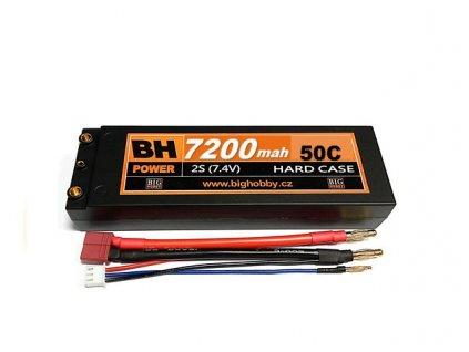 BH Power 7200 mAh 2S 50C (100C) HC (A) - AKCE !