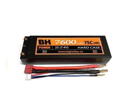 BH Power 7600 mAh 2S 75C (150C) HC (A) - AKCE !