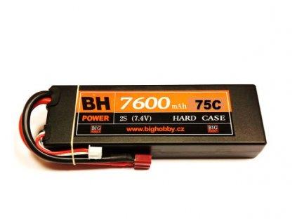 BH Power 7600 mAh 2S 75C (150C) HC (B) - AKCE !
