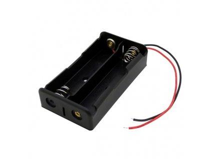 Držák baterie akumulátoru li-ion 2x18650