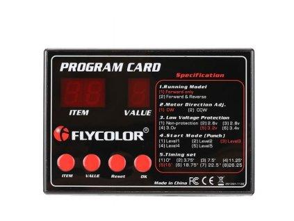 Flycolor programovací karta BOAT