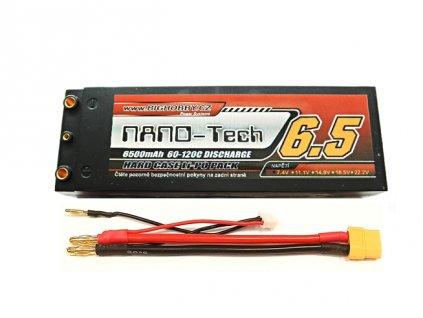 Bighobby- NANO Tech 6500mAh 2S 60C (120C) - HC (A) - AKCE!