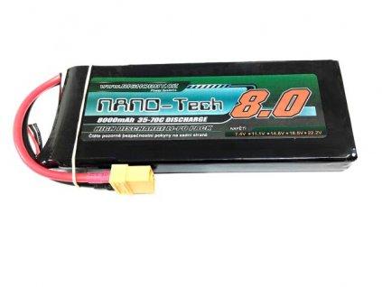 Bighobby- NANO Tech 8000mAh 2S 35C (70C)