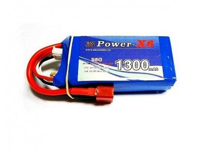 Power X6 1300 mAh 3S 25C (50C)