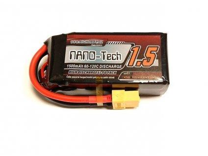 Bighobby- NANO Tech 1500mAh 3S 60C (120C)