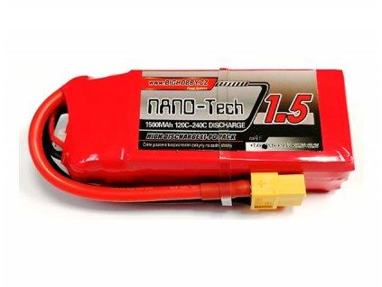 Bighobby- NANO Tech 1500mAh 3S 120C (240C)