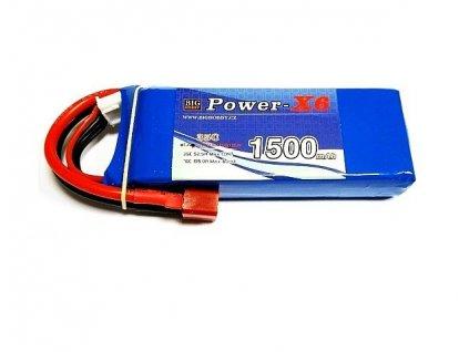 Power X6 1500 mAh 3S 25C (50C)