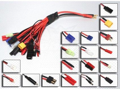Multi adaptér pro nabíjení 18 druhů konektorů
