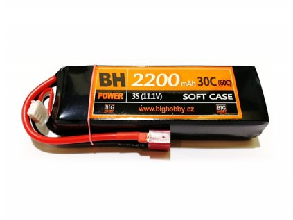 BH Power 2200 mAh 3S 30C (60C)