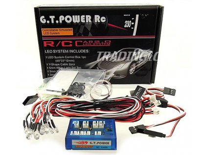 12 LED Control Car system