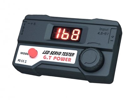 LED Servo tester - G.T. Power (B)
