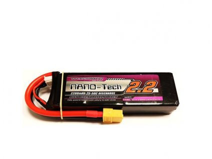 Bighobby - NANO Tech 2200mAh 3S 25C (50C)