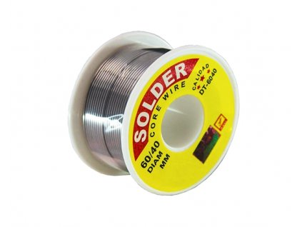 Cínová pájka 100g /1,0mm Sn63 Pb37 (B)