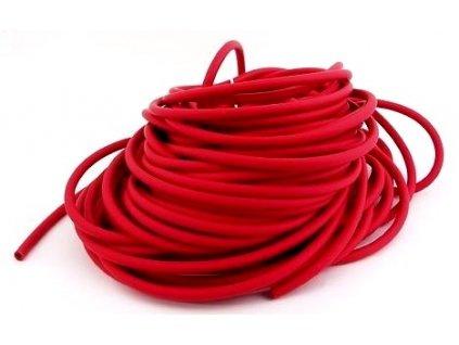 Guma pro gumicuk 6mm (10 metrů) - červená (sleva 50%)