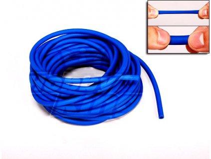 Guma pro gumicuk 8mm (10 metrů) - modrá - sleva !