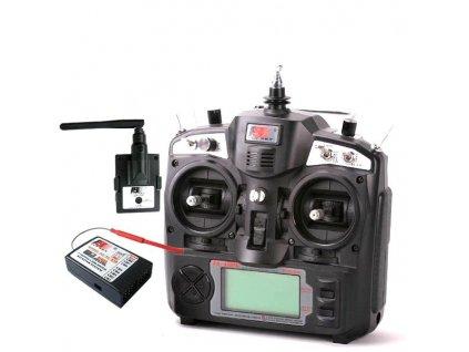 Fly Sky TH9X 9Ch (Turnigy 9X 9Ch) vysílač + iA10B- 10Ch- mode1
