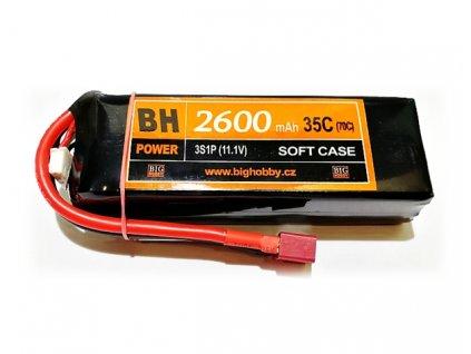 BH Power 2600 mAh 3S 35C (70C)