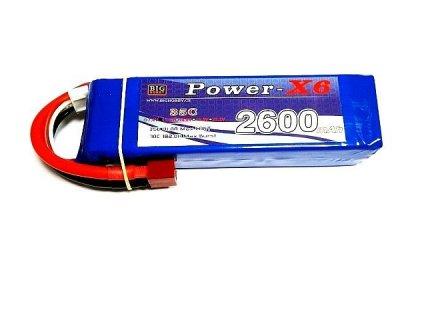 Power X6 2600 mAh 3S 35C (70C)