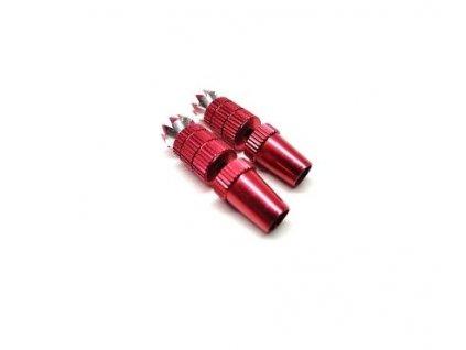 Koncovka páky vysílače M3 červená