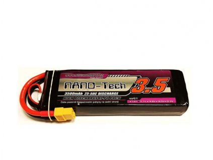 Bighobby - NANO Tech 3500mAh 3S 25C (50C)