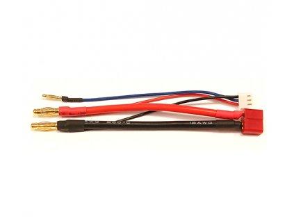 Nabíjecí, vybíjecí kabel pro Hard Case li-pol - T konektor
