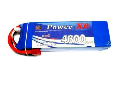 Power X6 4600 mAh 3S 35C (70C)