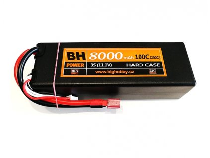 BH Power 8000 mAh 3S 100C (200C) HC (pevný obal)
