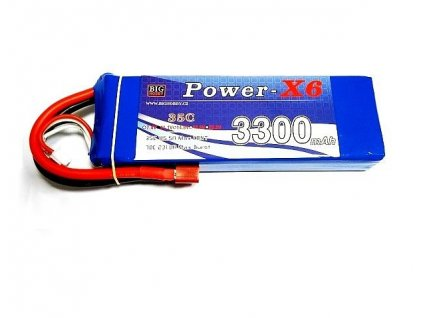 Power X6 3300 mAh 4S 35C (70C)