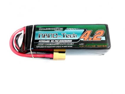 Bighobby- NANO Tech 4200mAh 4S 35C (70C)