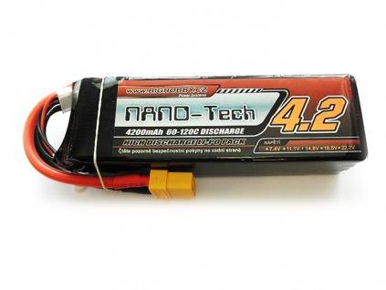 Bighobby- NANO Tech 4200mAh 4S 60C (120C)