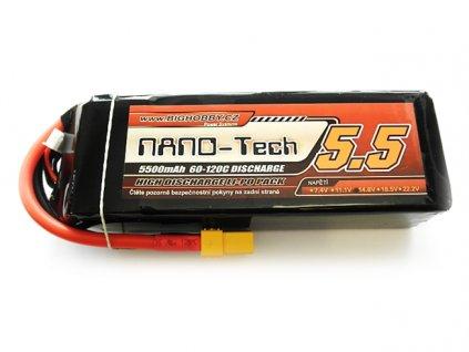 Bighobby- NANO Tech 5500mAh 5S 60C (120C)