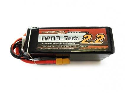 Bighobby- NANO Tech 2200mAh 6S 60C (120C)