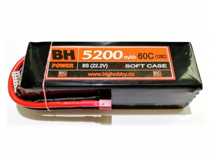 BH Power 5200 mAh 6S 60C (120C)