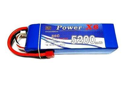 Power X6 5200 mAh 6S 35C (70C)