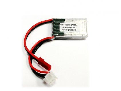 Bighobby- NANO Tech 200mAh 2S 20C (30C)