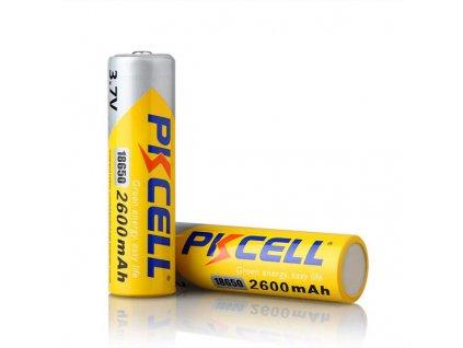 Nabíjecí Li-Ion Baterie PK CELL gold 18650 2600mAh s PCB ochranou